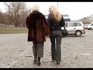 Lesbian von Studio Private Old-n-young Nikky Thorne süße junge blonde Mädchen verführt reife Frau