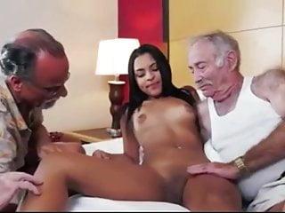 Old-n-young alte Männer verführen junge Frau