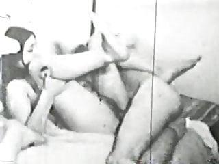 Orgies von Studio Legend X Group Sex vintage - s/w film orgie circa 1960