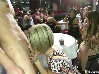 X Group Sex Dancing Bear Frauen saugen Schwanz nach Schwanz