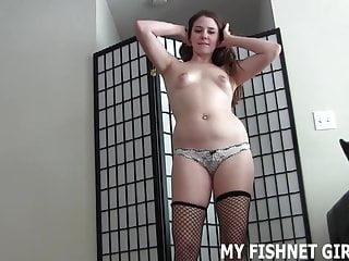 MAKING von Studio Trimax My Fishnet Girls Whitney Morgan Bailey Paige Ihre Sucht nach Frauen in Netzen macht mich auf joi
