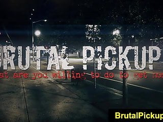 Brutal Pickups fetischnetwork Lilly Sapphire Hippie Outdoor Sex