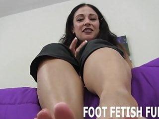 Foot Fetish Fun Ich zeige Ihnen, wie man eine Frau Füße richtig verwöhnen