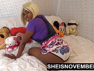 She is November Ebenholz amateur step schwester msnovember reiten & doggystyle sex