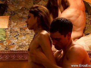 Eros Exotica Sahara Knite Indian Couple sind erfahrene Liebhaber