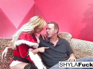 Best Of Shyla Stylez Mark Wood shyla es xmas creampie