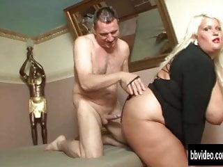 sehr fette deutsche Frau nehmen Schwanz