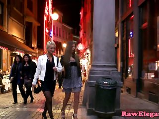 Lesbian von Studio Private Elegant Raw Debbie White glamcore lesben lecken Klitoris und analplay