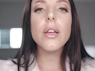 Big & natural Tits von Studio Sunshine asmr fantasy dr. Angela White gibt ganzkörperliche körperliche Untersuchung