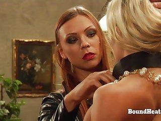 Bound Heat Mistress T Amy Pink die Ausbildung von erica:keine Möglichkeit, von Herrinnen Peitsche zu entkommen