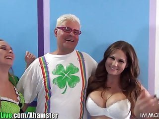 X Group Sex Bibi Noel st.patricks Pornostar-Orgie-Party! vol.5