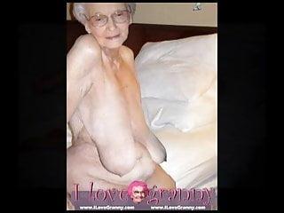 ilovegranny alte Frau, Dame und reifen zeigt ihren nackten Körper