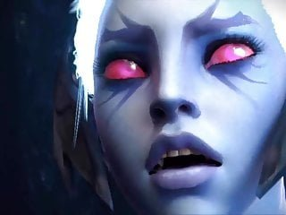 Double Penetration von Studio Ninn Worx beste unzensierte Szenen von Videospiel Babes in 3d Hentai Orgie