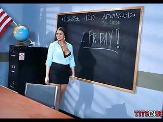 Big Boobs von Studio Private Big tits at school Channel Jessy Jones Brooklyn Chase neuer Lehrer verführt Schüler