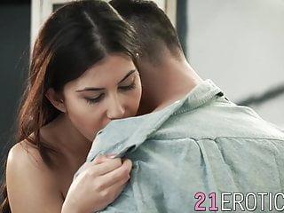 MAKING von Studio Trimax 21 Naturals Anya Krey erotische Schönheit macht Liebe zu ihrem Mann und bekommt Facialized