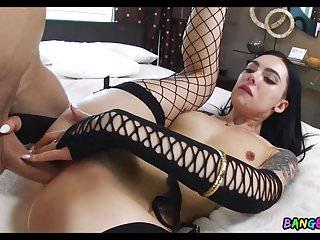 Bangbros18 Marley Brinx bis ihren Arsch mit einem langen Schwanz