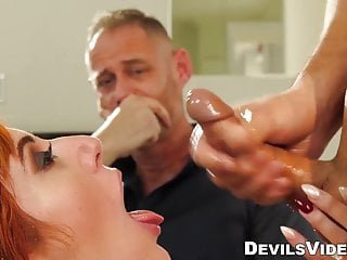 Big Tits von Studio Foxy Media Devils Videos Donnie Rock Lauren Phillips Rotschopf milf cuckolds hubby mit Eheberater