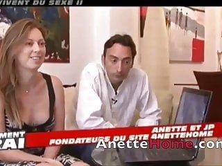 Anette Home Französisch amateur paar mit 9 live voyeur cams