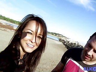 illicoporno heißer Brasilianer Francys Belle gefickt am Strand