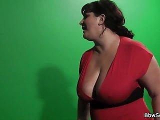 Big Boobs von Studio Private BBW Secret Channel Frau erwischt fett betrügen