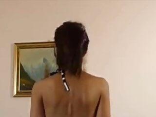 Lingeries von Studio Trimax Babes Dame pfeifen, um hier neue Strumpfhosen zu zeigen