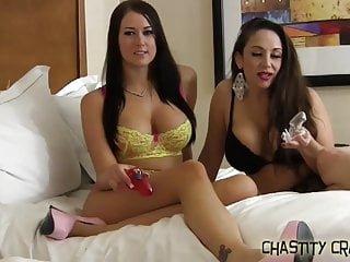 Big Boobs von Studio Private Chastity Craze Ashley Sinclair du musst für immer in Keuschheit eingesperrt bleiben