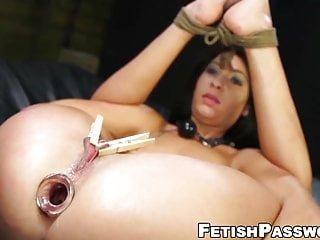 Fetish Network Esmi Lee tit gequält sub babe anal zerstört mit riesigen schwanz